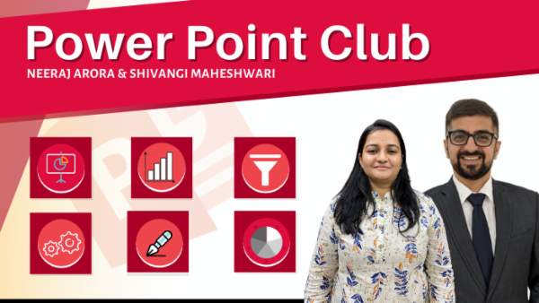 PowerPoint Club by Neeraj Arora cover
