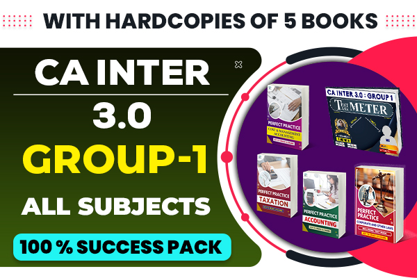 CA Inter 3.0 : Group 1 (All Subjects) cover