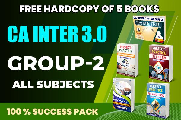 CA Inter 3.0 : Group 2 (All Subjects) cover