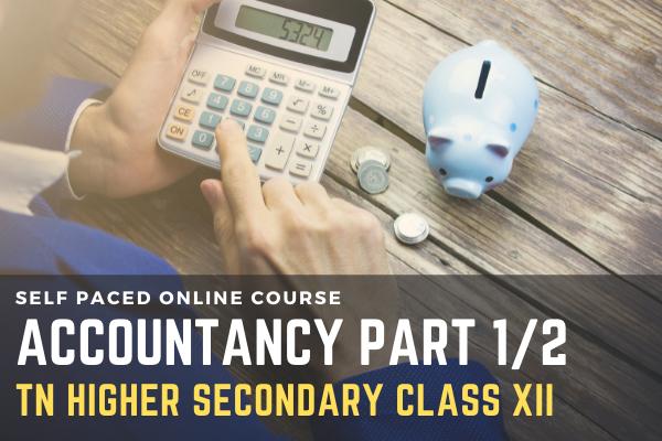 TN Class XII: Accountancy Part 1/2 cover