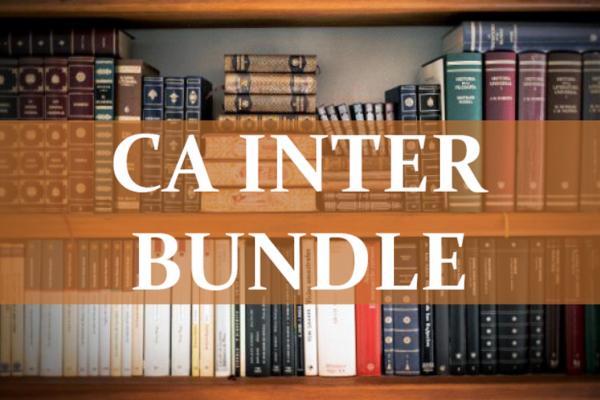 CA INTER BUNDLE cover