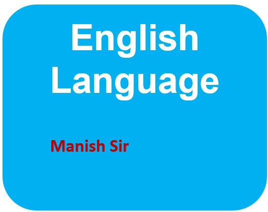 English Language cover