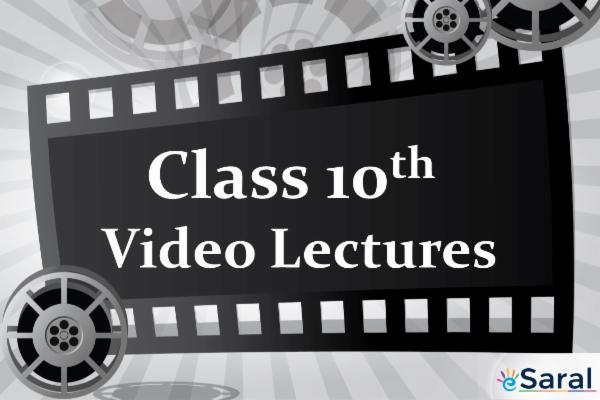 Class 10 Video Lectures cover