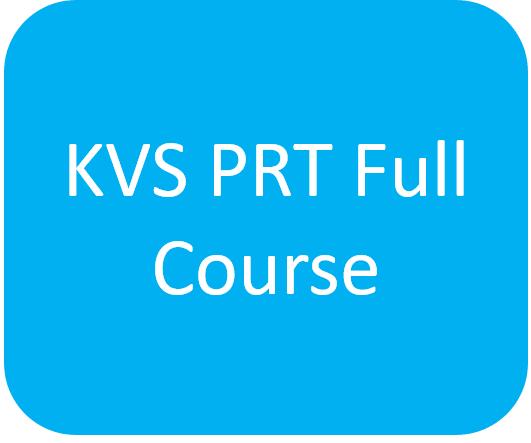 KVS PRT Full Course cover