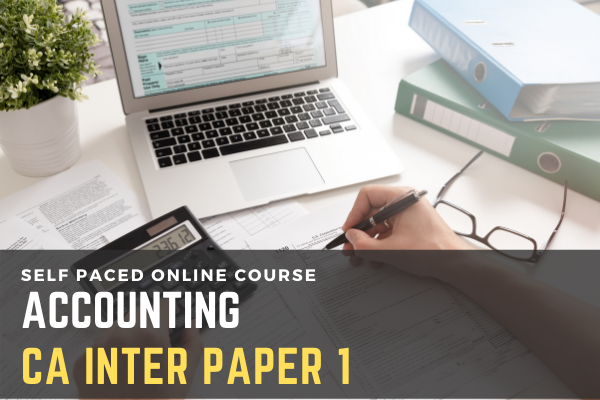 Paper 1 Accounting (CA Inter) cover