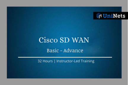 Cisco SD WAN: Starts on 24th-Oct-2020 @10AM IST cover