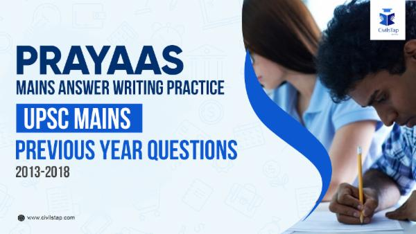 UPSC Mains | Previous Year Questions cover