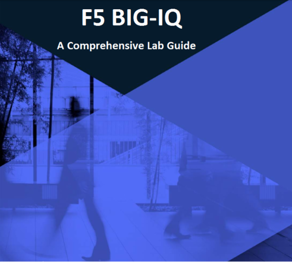 F5 BIG-IQ Lab Workbook v1.0 cover