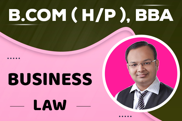 Business Law : B.com (H/P), BBA cover