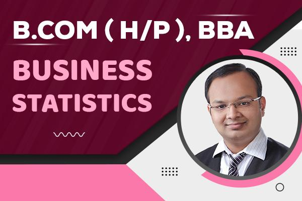 Business Statistics : B.com (H/P), BBA cover