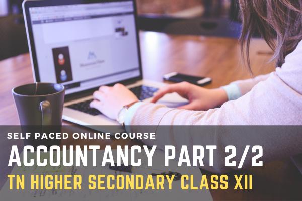 TN Class XII: Accountancy Part 2/2 cover