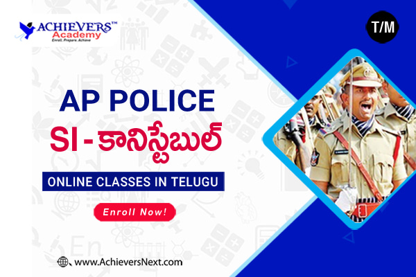 AP SI & Constable Online Coaching Classes cover