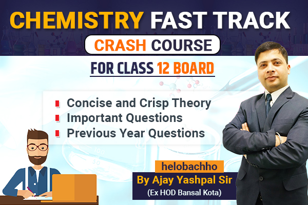 Chemistry Revision course for Boards cover