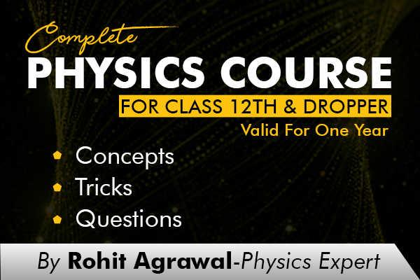 One year Validity - Complete Physics Course cover