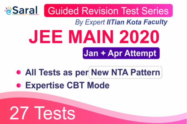JEE Main Guided Revision Test Series ( For Jan and Apr 2020 Attempt) cover