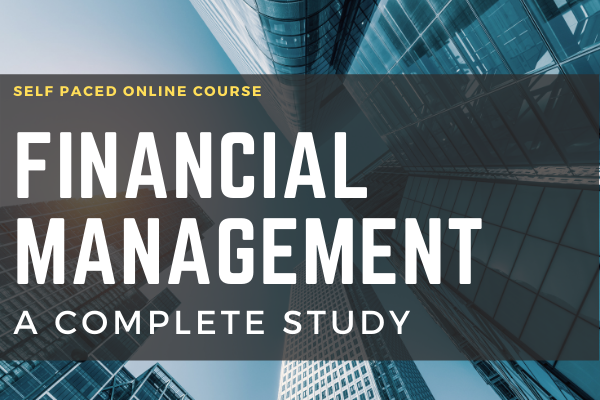 Financial Management A Complete Study cover