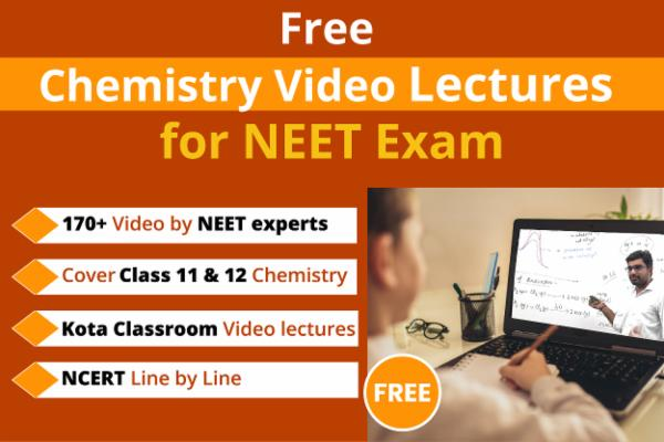 Chemistry Free Video Lecture for NEET/AIIMS cover