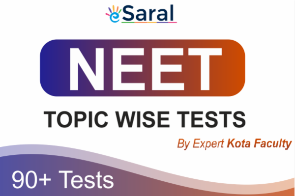 NEET Topicwise Tests cover