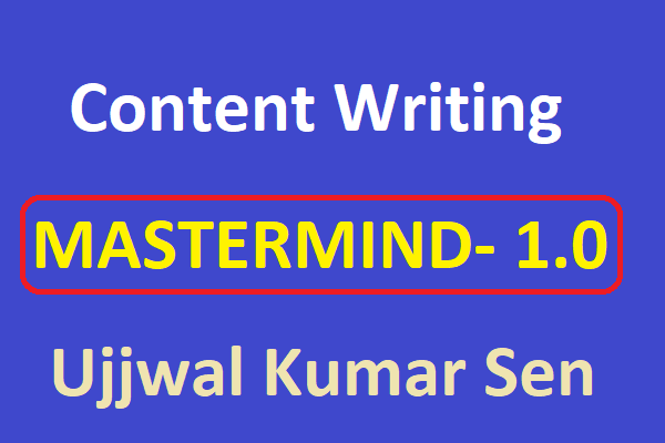 Content Writing Mastermind 1.0 cover