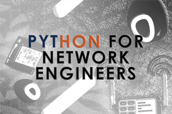 Python for Network Engineers Sep. cover