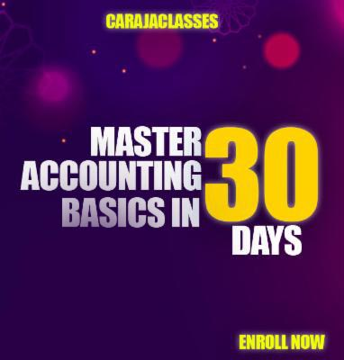 MASTER ACCOUNTING BASICS IN JUST 30 DAYS cover