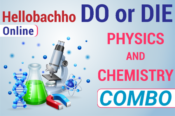 Combo course Do or die physics and chemistry cover