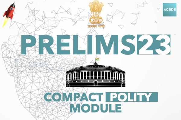 MarksUp Prelims Polity Module cover