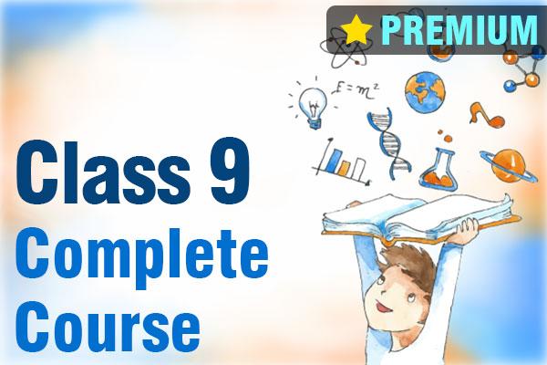 Class 9 Complete Course (Premium) cover