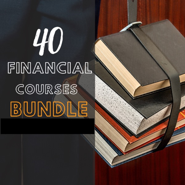 40 FINANCIAL COURSES BUNDLE cover