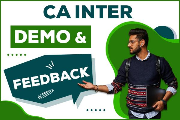 CA Inter Students Feedback cover