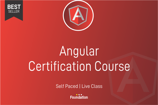Angular Certification Course cover