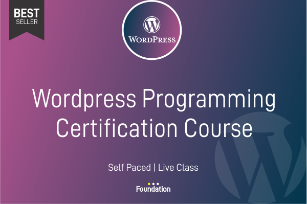 Wordpress Programming Certification Course cover