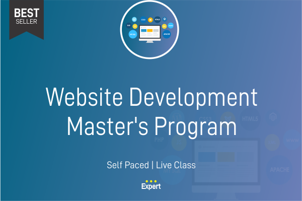 Website Development Master Program cover