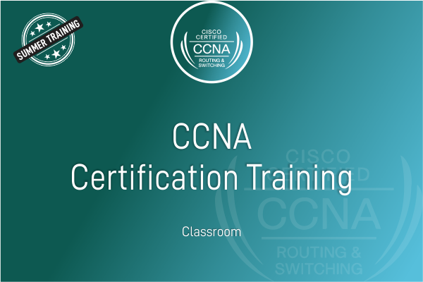 CCNA - Summer Training cover