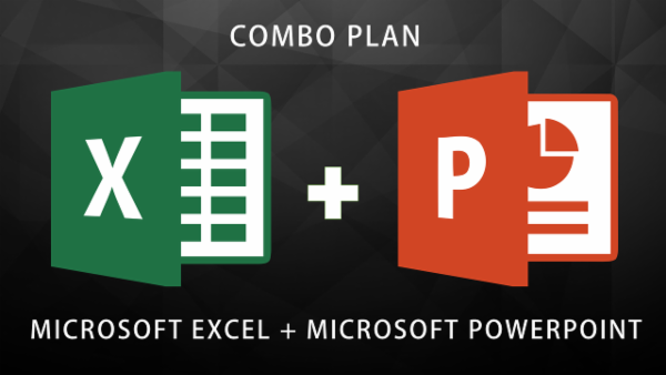 COMBO PLAN - MS Excel Expert + MS PowerPoint Expert cover