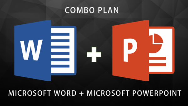 MS Word Expert + MS Powerpoint (COMBO PLAN) cover