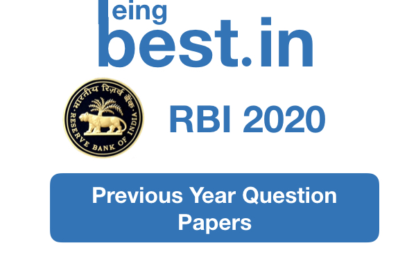 RBI Previous Year Papers cover