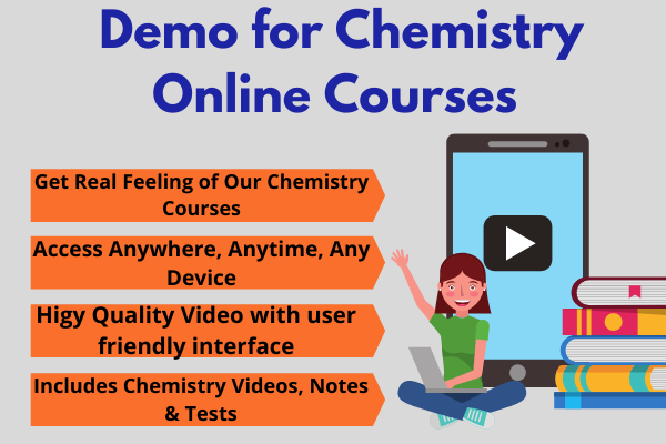 Free Demo Chemistry Video Lectures & Test Series cover