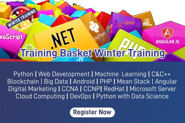 Registration for Winter Training cover