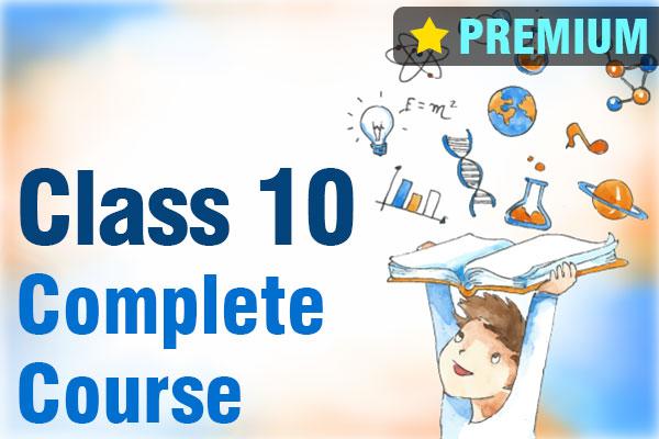 Class 10 Complete Course (Premium) cover