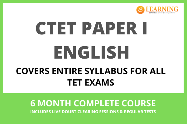 CTET Paper I - English cover