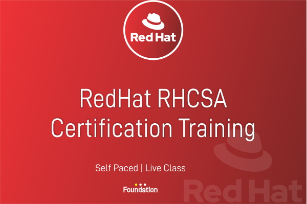 RHCSA Certification Training cover