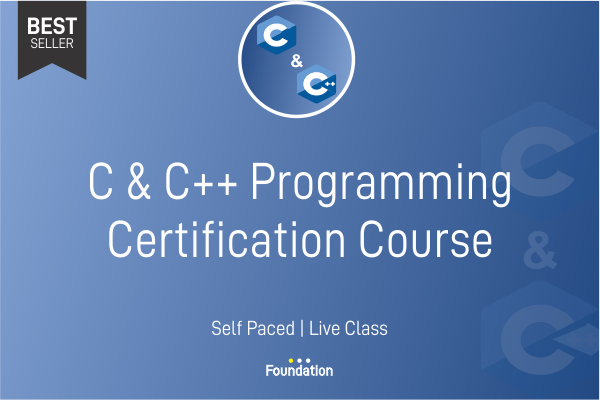 C & C++ - Programming Certification Training cover
