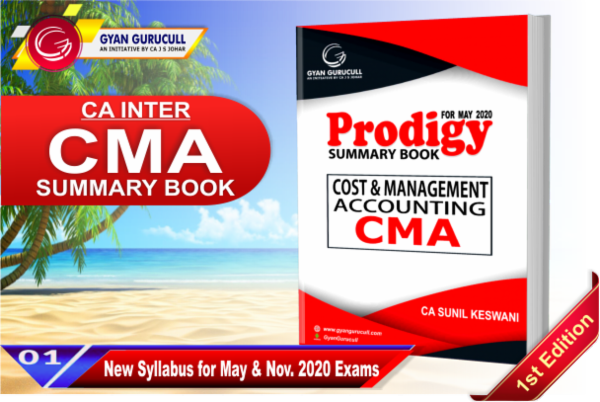 Cost & Management Accounting Summary Book cover