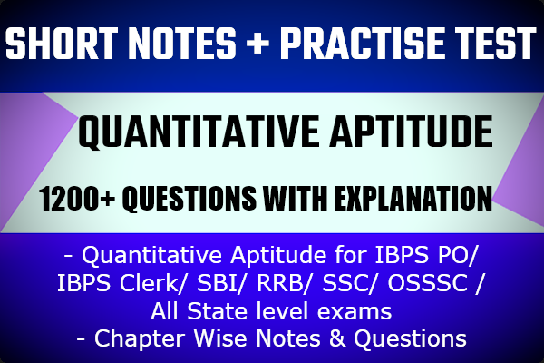 Quantitative Aptitude cover
