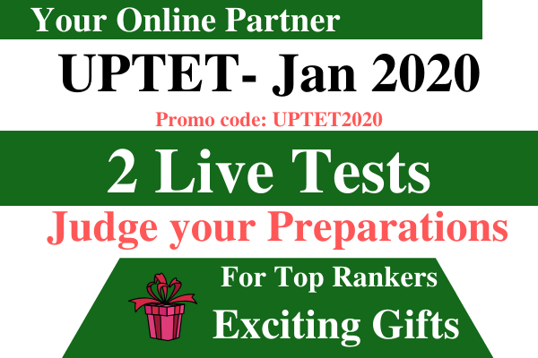 UPTET Preparation- Live Test cover