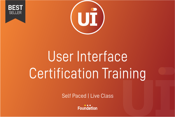 User Interface Certification Training cover