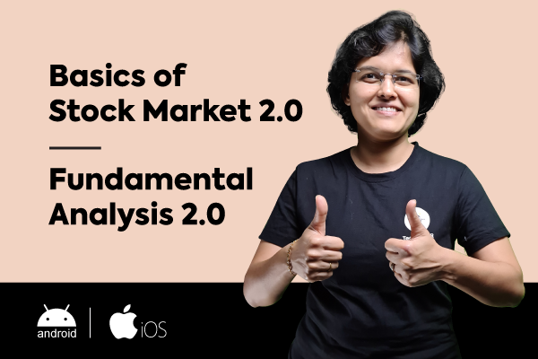 Basics Of Stock Market + Fundamental Analysis (For Android & iOS) cover