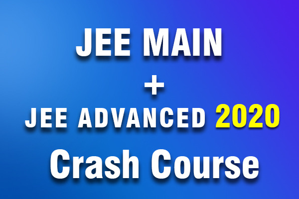 Bounce Back Crash Course JEE 2020(Main + Advanced) cover