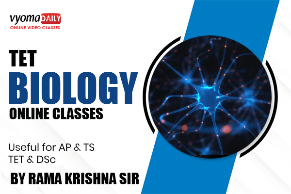 TET Biology Online Classes in Telugu | Vyomadaily cover
